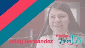 Jeidy Hernández, becada en gastronomía por Grado Harry  Sasson