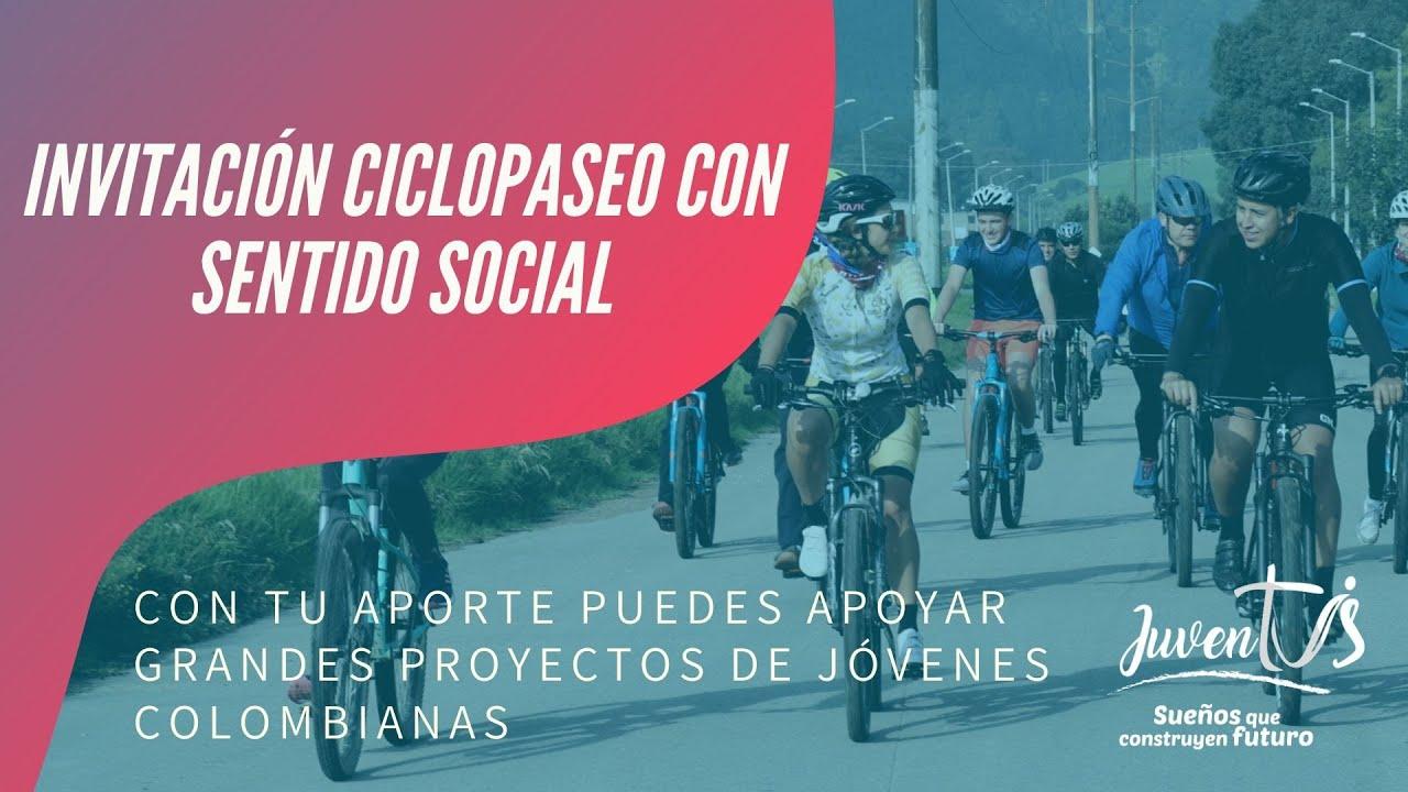 Invitación Ciclopaseo con Sentido Social