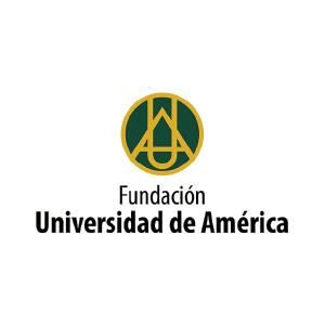 logo universidad de america completo