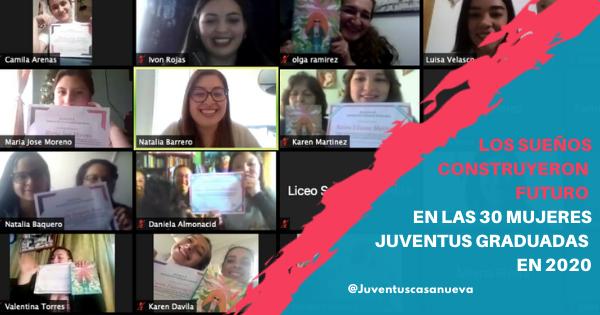 Los sueños construyeron futuro en las 30 Mujeres Juventus graduadas en 2020